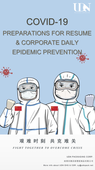 UDN Epidemic Prevention Report Mar 2020